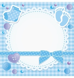 baby frame vector image
