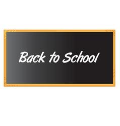 Chalkboard black vector