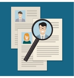 Concept searching professional staff vector