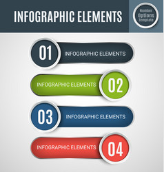infographic element set4 vector image