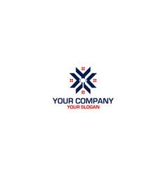 Lawyer k home logo design vector