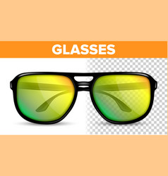 man male glasses hipster frame cool vector image