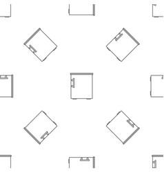 small fridge pattern seamless vector image