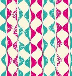 Vintage seamless pattern hipsters vector image