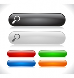 Website menu buttons vector