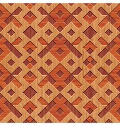 wooden rhombus vector image