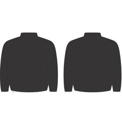 Youth storm full zip training top vector