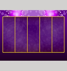 Background for slots game 2 vector image vector image