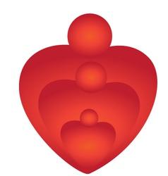 Family care logo vector image