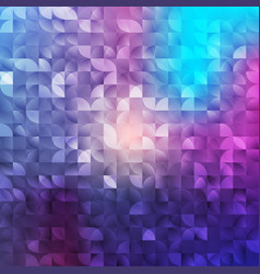 Abstract geometrical background mosaic vector