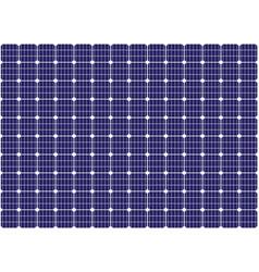 Blue solar cell pattern vector