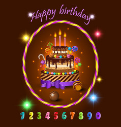cake1 vector image