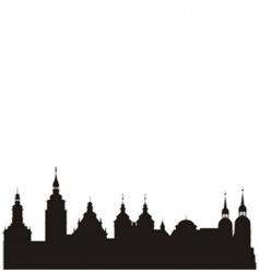 Historical city vector