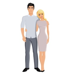 Husband and wife vector