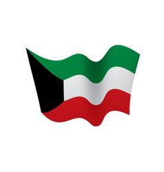 Kuwait flag vector