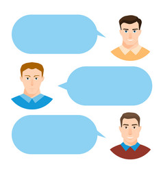 men talking people fashion couple vector image