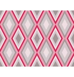 Retro diamonds pattern vector