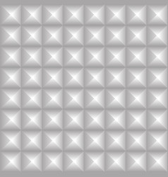 Studded background pointed pyramidal shapes vector