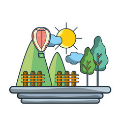 Travel and summer cartoons vector