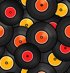Records background vector image