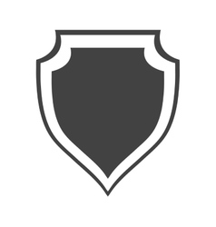 shield protection insignia security company vector image