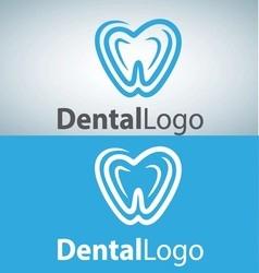 dental logo 10 vector image
