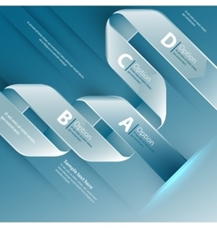 Web design template use for vector image vector image