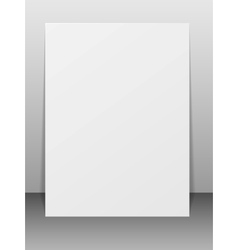 Blank greeting card vector image vector image