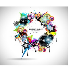 2014 Music Event Background for your Flyers vector