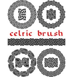Celtic brush vector