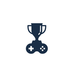 game trophy logo icon design vector image