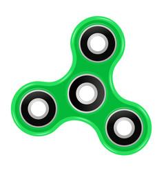 Hand spinner flat vector