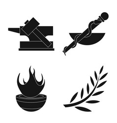 Religion and myths symbol vector