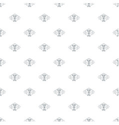 retro style pattern seamless vector image