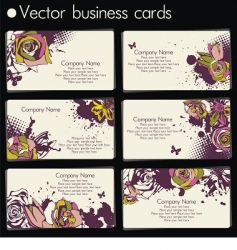 vector business card vector image