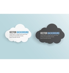 abstract background thunderstorm cloud vector image