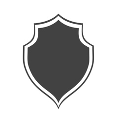 Shield protection insignia security dark vector