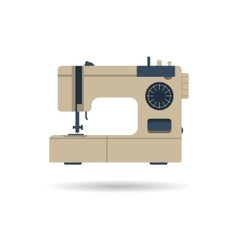 Sewing machine isolated vector image