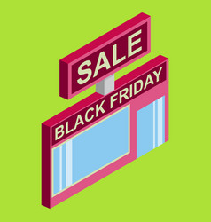 black friday sale tag offer bannersale clearance vector image