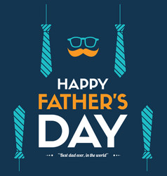 Father day design background tie vector