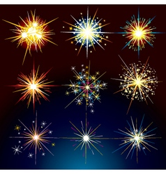 Fire works vector