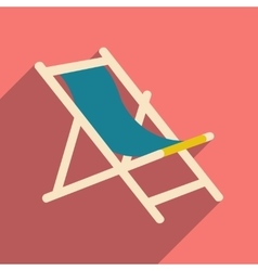 Flat with shadow icon and mobile application deck vector