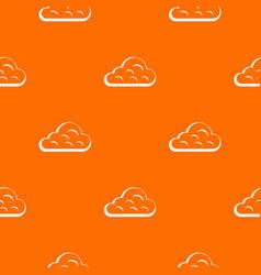 rainy cloud pattern seamless vector image