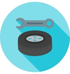 Tyre repair vector