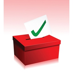 Vote box vector