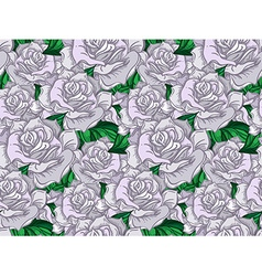 Wedding Rose Seamess Pattern vector image