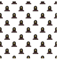 Headstone pattern seamless vector