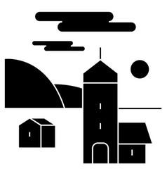 village icon sign o vector image vector image