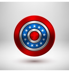 4th of July Independence Day Badge vector image vector image