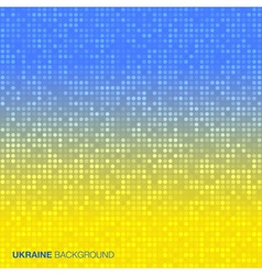 Abstract Background using Ukraine flag colors vector image vector image
